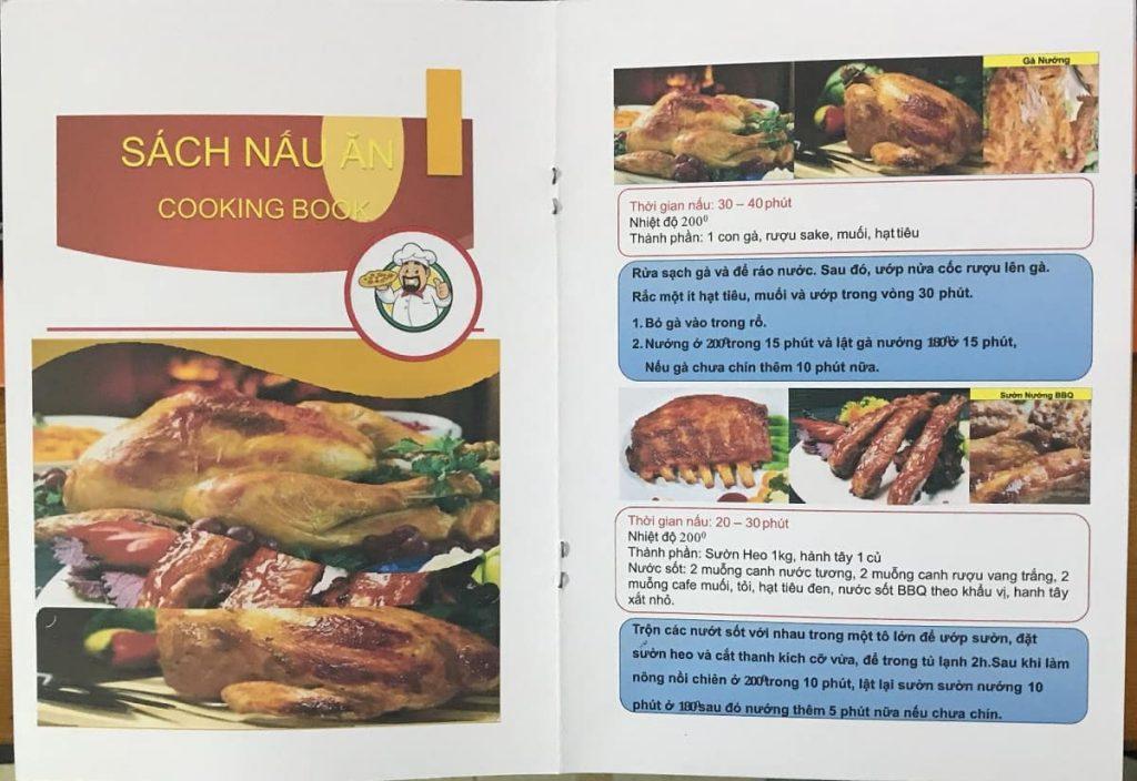 Sách nấu ăn nồi chiên Casamom