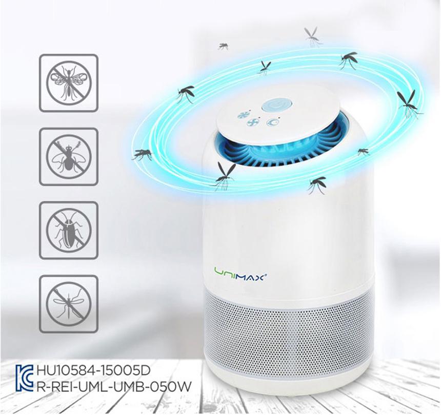 Máy bắt muỗi Unimax Hàn Quốc hiệu quả an toàn